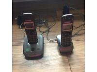 Panasonic twin house phones