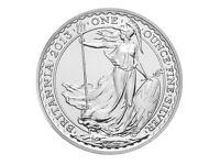 BRITANIA SILVER COINS 2013