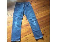 Levi 501 vintage jeans size 34