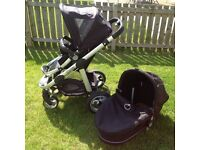 I candy apple puschair and carrycot