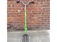 """Backsaver fork""""£99 new bargain price£25."""