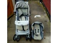 Graco push chair with baby seat cheap