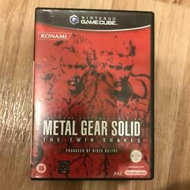 Metal Gear Solid Twin Snakes GameCube game rare