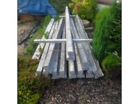 24 Robeslee Concrete T-Beams. Unused materials from building project. Available for uplift now