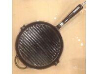 ProCook cast iron griddle pan