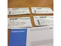 4 x Status Quo Tickets, Last of the Electrics Tour