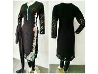 Asian lady's net suits £20 each