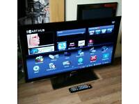 "SAMSUNG 40"" SMART 3D LED TV FREEVIEW WIFI YOUTUBE ETC"