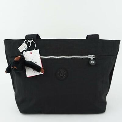 KIPLING JERIMIAH Tote Shoulder Handbag Black