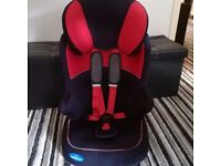 Childs full backed booster seat