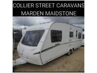 2008 6 berth caravan abbey vogue 650