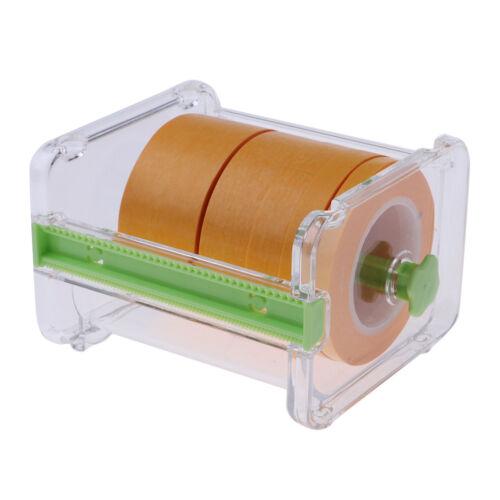 Set Portable Paper Tape Dispenser Cutter + 6/9/12/18/30mm Ro