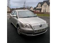2005 Toyota Avensis *MOT'd to October 2018, Gas Conversion Fitted, Automatic, 5 Door*