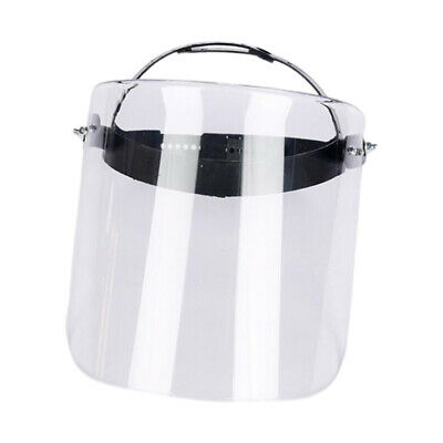 Clear Safety Welding Grinding Mining Full Face Shield Helmet Protective Gear