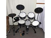 Goedrum Je6 Electric Drum Set Digital Electronic edrums in Black full mesh set