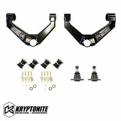 Kryptonite Upper Control Arm Kit For 2011-2019 Chevy GMC 2500HD 3500HD Truck