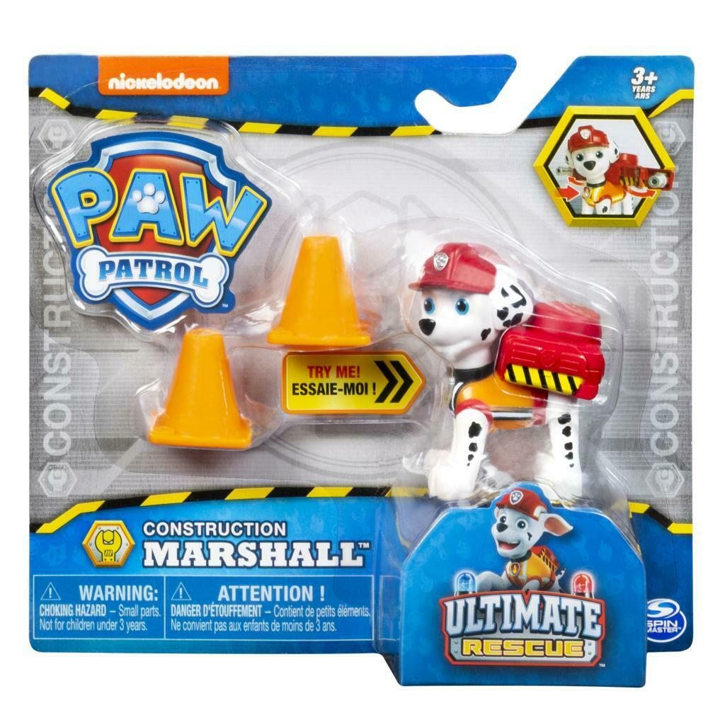 Paw Patrol Action Figure - Ultimate Rescue Construction Pup