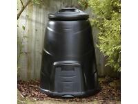 Blackwall 330Litre Black Compost Converter Brand New