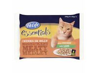 HiLife Meaty Medley in Jelly Cat Food Pouches 52 pk