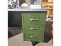 Classic Green metal Desk