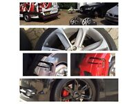Alloy Wheels Repair And Refurbishment 100% Mobile Van 10 years experience. THE WHOLE LONDON