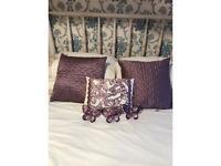 Bedroom Set - Bedspread, cushions & ornaments