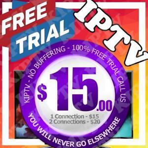 IPTV - PREMIUM SERVER - NO BUFFERING     >>>FREE TRIAL<<<    KIPTV IS THE NUMBER 1 SERVICE