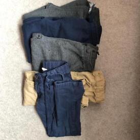 Boys joggers trousers bundle age 4-5