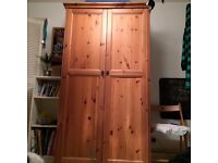 Wardrobe - IKEA solid wood