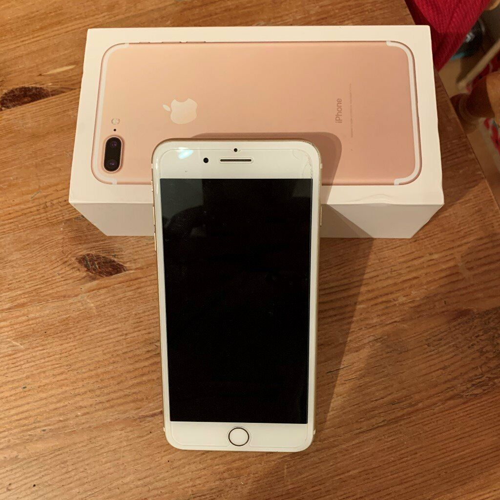 iPhone 7 plus Gold 32GB | in New Haw, Surrey | Gumtree