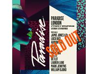 Paradise Printworks tickets SOLD OUT Saturday 25th November – Jamie Jones, Loco Dice and more