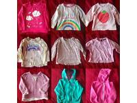 JOB LOT girls 12-18 tops, hoodies and jeans
