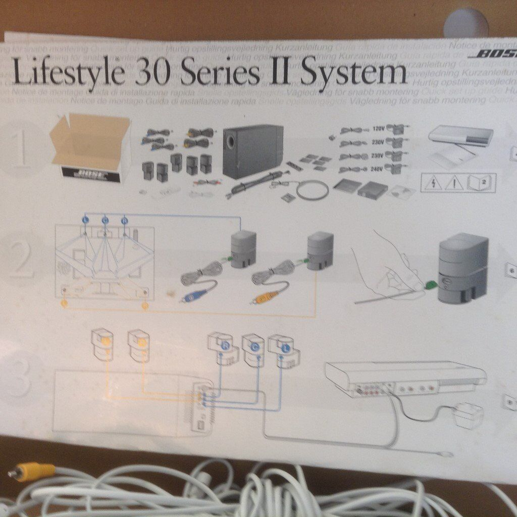 Bose Lifestyle 30 Series II, complete surround sound system. | in ...