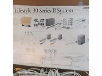 Bose Lifestyle 30 Series II, complete surround sound system.