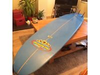 Surfboard 7'8 Hot Buttered Minimal with bag + leash