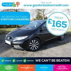 Honda Civic 1.6 i-DTEC S 5dr / Finance Available