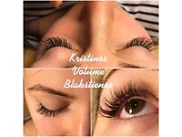 eyelashes extensions classic and volume 2D/3D 35£