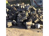 Large quantity of reclaimed stones approximate 30 tonne