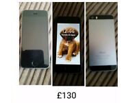 Iphone 5s. Locked to Vodafone. Good condition 16gb. £130