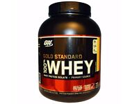 *** Optimum Nutrition Gold Standard 100% Whey Protein Powder - 2.27 kg, Banana Cream***