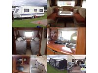Hobby Excelsior 610 - 2009,4 Berth,Twin Axle,Fixed Beds