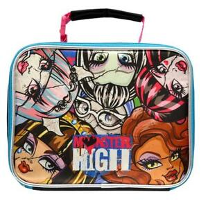 Mattel Monster High Deluxe Classic Designed Kids Eye Catching Ultra-Cool Insulated Lead Safe PVC Free Lunch Bag