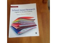 Undergraduate/Education/Teaching: School Based Research by Elaine Wilson (2nd Edition)