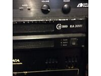 C audio power amplifier ra. 3001