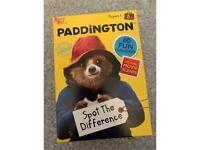 Paddington spot the difference game