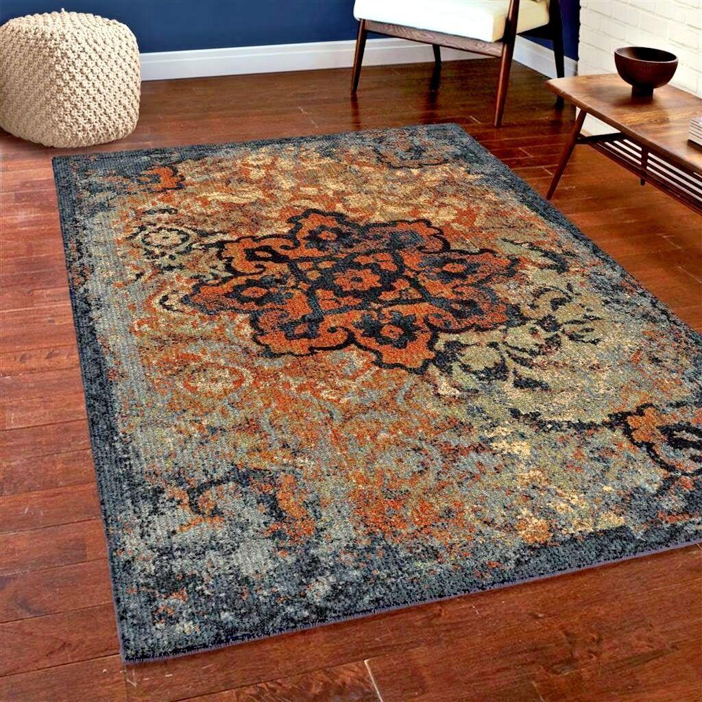 Area Rug On Carpet Dining Room