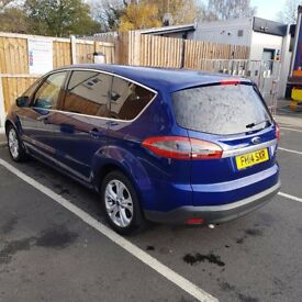 Ford S Max automatic 163cc 2014