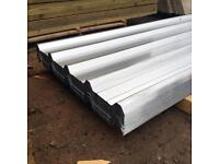 Galvanised Roof Sheets - Box Profile - New 🔨