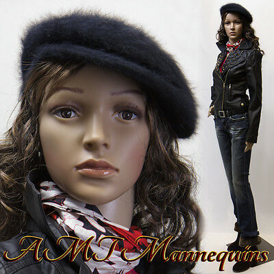 Amt Female Mannequins Mannequin Metal Stand Full Body Manikin-cf112wigs