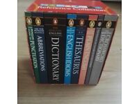 The Penguin Complete English Reference Collection 8 Book Set